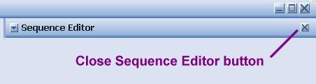 BiteFX Close Sequence Editor Button