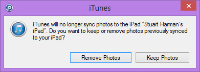 Remove Photos