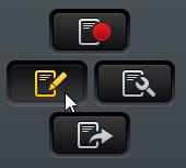 Edit Session Recording Button