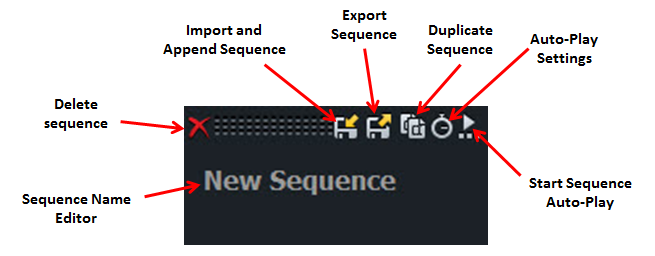 New Custom Sequence Buttons