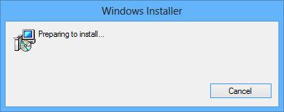 Preparing to install