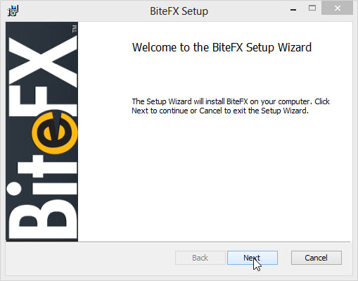 Welcome to the Install Wizard  Cursor on Next