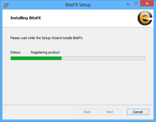 Installing BiteFX Progress Bar