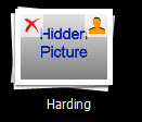 Album Thumbnail When Images Hidden