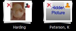 Hide Image Icon Comparison