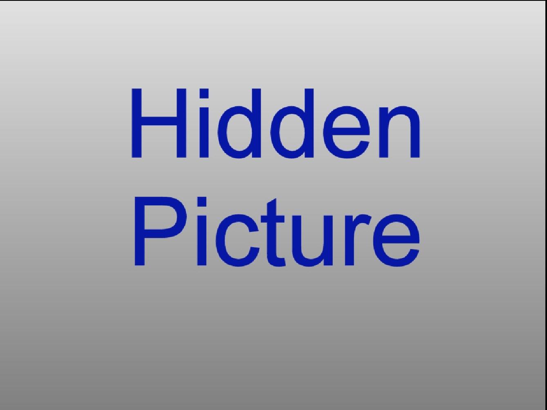 Selected Hidden Picture in Main Screen