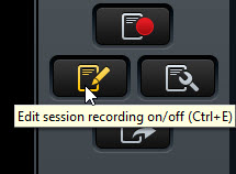 Edit Session Notes Button