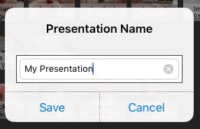 Renamed Presentation