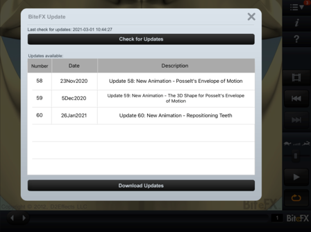 BiteFX Update Dialog V3.0.25