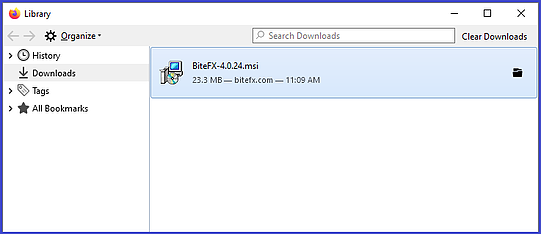 Firefox Downloads Folder Open