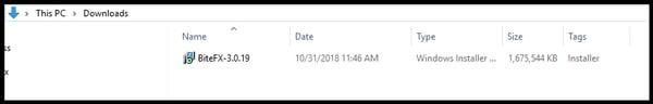 Downloaded Installer File V3_2