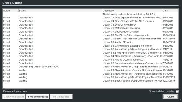 V4 Upgrade - Most Updates Downloaded