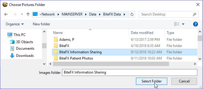 Navigate to Share Folder